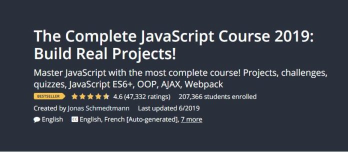 The Complete JavaScript Course 2019: Build Real Projects Download
