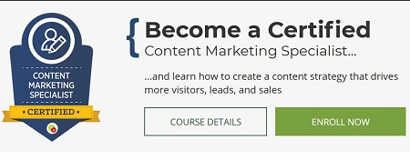 content marketing specialist course download