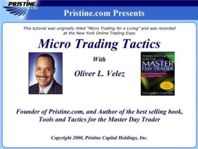 Oliver Velez - Micro Trading Tactics [Audiobook] Download For Free