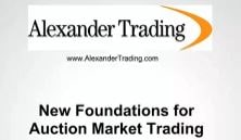 New Foundations For Auction Market Trading – Tom Alexander Download For Free