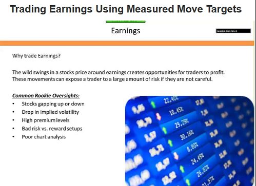 AlphaShark – Trading Earnings Using Measured Move Targets Download